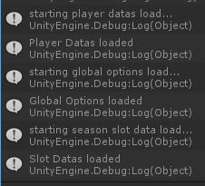 Loading datas