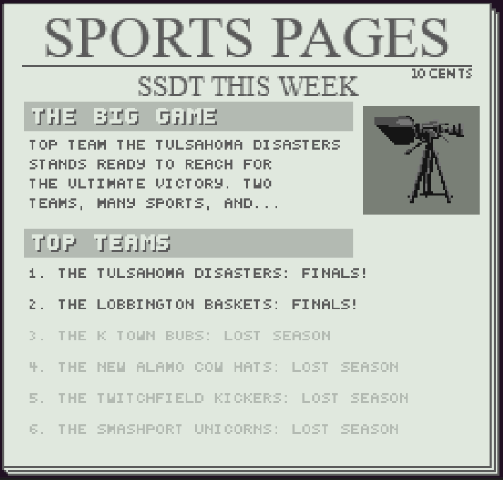 Sports Pages
